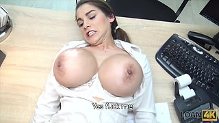 Sexy hot cheater with big breasts