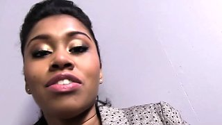 Yasmine De Leon enjoys gangbang and bukkake
