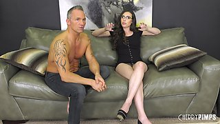 Extraordinary face sitting with a small-titted babe Casey Calvert