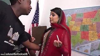 Muslim teacher interracial gang bang