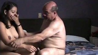 Indian slute girl fucked by old man