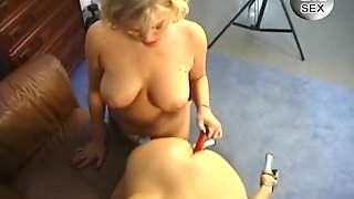 Bisexual Babes Fuck Themselves and Guy