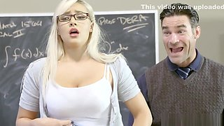 Kylie Page fucked by angry teacher