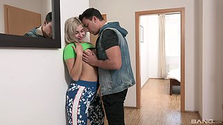 Hot step sister home fuck