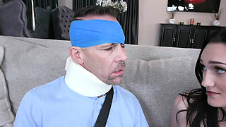 DaughterSwap - Sexy Teens Have Sex With Each Other's Hot Dad