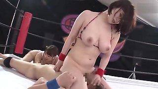 handjob wrestling japan