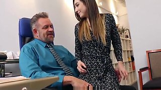 Step Daughter Seduces Her Daddy on Work Again and Again