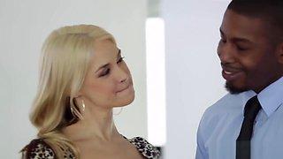 Busty milf cuckolds her pathetic husband
