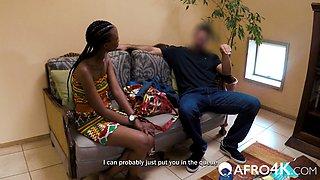 Amateur African Deep Throat Casting