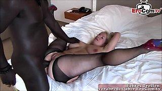 german big ass mature milf homemade anal creampie big cock