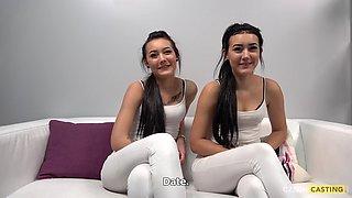 Real sisters zlata and karolina
