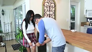 Nerdy Sister Feels Better After Her Stepbrother Fucks Her