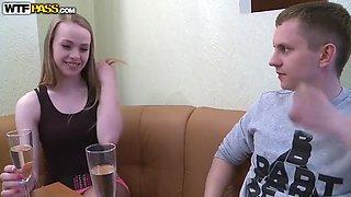 Russian teen hanna swallows