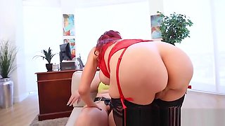 BBW Doctor Angelina Castro StrapOn Fucks Milf Sexy Vanessa!