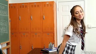 Remy LaCroix in Sexy Schoolgirl Fucked By Teacher