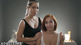 ASMR Roleplay Fantasy-Full Body Lesbian Massage- Alina Lopez