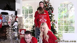 Brutal daddy Heathenous Family Holiday Card