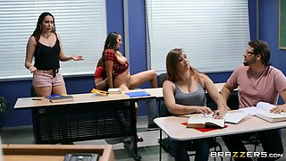 lets fuck in front of our classmates!