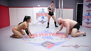 Nude wrestling match and sex fight song lee vs thor
