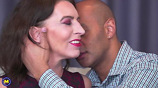 Black cock for mature mom