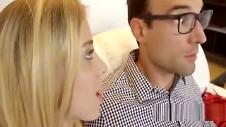 Father fucked daughter until mom saw