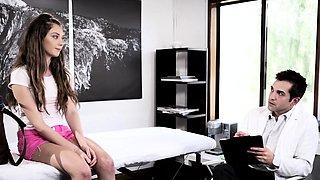 Virgin 18yo creampied in taboo sex w doctor