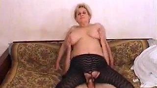 Mature Russian big tis