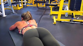 yes!!! fitness hot ass hot cameltoe 118