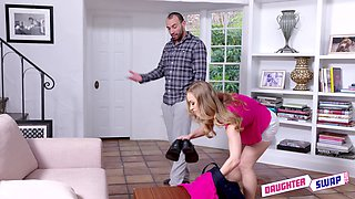 Judy Jolie and Diana Grace swap husbands and cum in a foursome