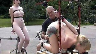 Bicycle powered fuck machine