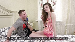 Deep Hardcore defloration with tears of Sofia Dolgovyaz