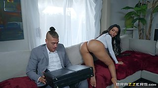 busty latina gets fucked in the ass