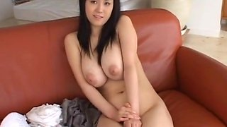 Japanese with perfect big tits