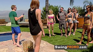 The first swinger orgy of the season