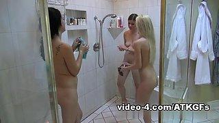 ATKGirlfriends video: virtual triple date with Lara Brookes, Sofia Banks, and Skylar Green