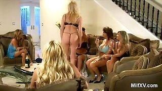Naked MILF Pornstars in the Living Room