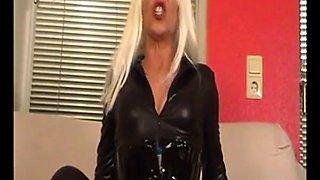 Blonde Latex MILF Part II