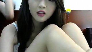 Hot Chinese teen live pussy masturbate