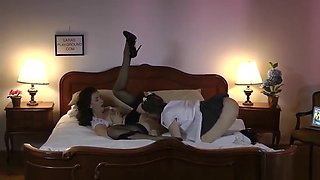 Older stockings les tongues vag