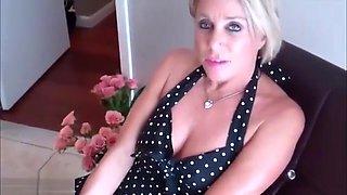 Payton Hall Sucks Son Cock and Swallows Cum