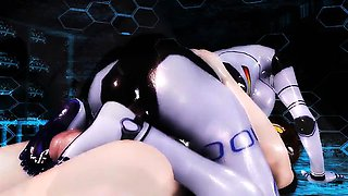Virtual Robo Pussy - Horny 3D anime sex collection