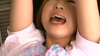 Naughty Asian babe is in the hospital