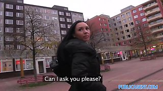 PublicAgent: Maya with big tits gets fucked in a car park