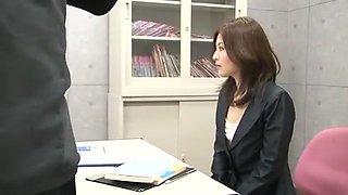 Crazy Japanese whore Kuroki Ichika in Incredible Cougar JAV clip