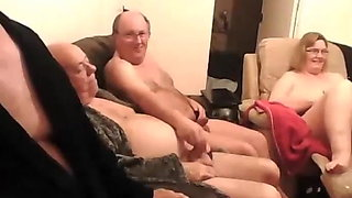 upintime2 Mature British swingers play on cam montage
