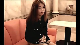 Submissive Asian slut on a leash gets pounded deep and rough