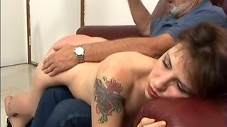 Discipline spanking