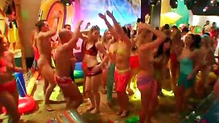 Indoor beach party