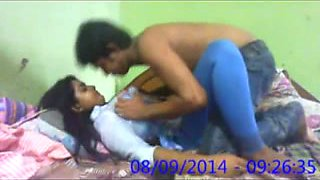 19 year old Indian coed definitely loves missionary position
