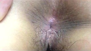 Busy Korean Couple Having a Quick Sex Again
